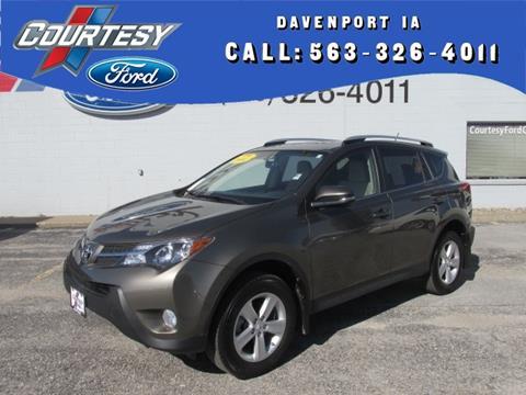 2014 Toyota RAV4 for sale in Davenport, IA