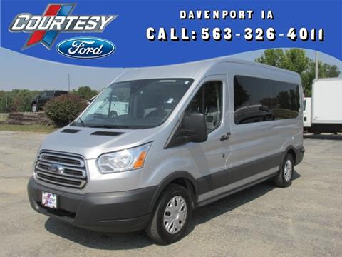 2016 Ford Transit Wagon for sale in Davenport IA