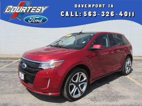 2012 Ford Edge for sale in Davenport IA