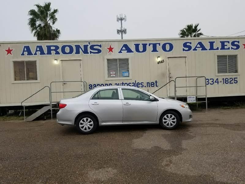 2010 Toyota Corolla For Sale At Aaronu0027s Auto Sales In Corpus Christi TX