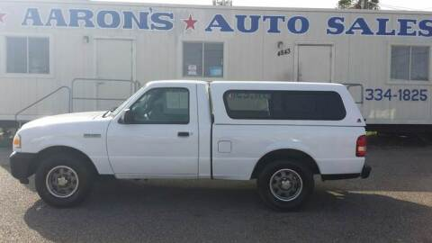 2008 Ford Ranger for sale at Aaron's Auto Sales in Corpus Christi TX