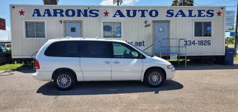 2000 Chrysler Town and Country for sale at Aaron's Auto Sales in Corpus Christi TX