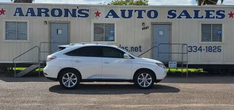 2010 Lexus RX 350 for sale at Aaron's Auto Sales in Corpus Christi TX