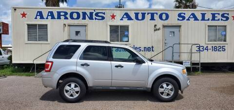 2011 Ford Escape for sale at Aaron's Auto Sales in Corpus Christi TX