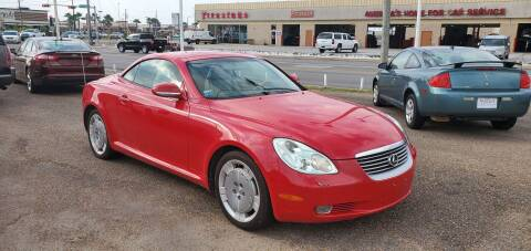 2002 Lexus SC 430 for sale at Aaron's Auto Sales in Corpus Christi TX