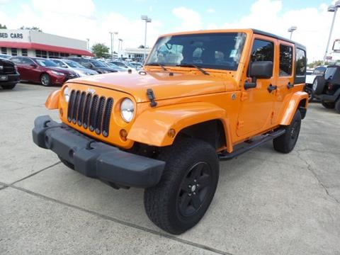 2012 Jeep Wrangler Unlimited for sale in Laurel, MS