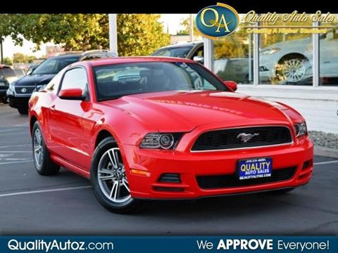 2013 Ford Mustang for sale in Sacramento, CA