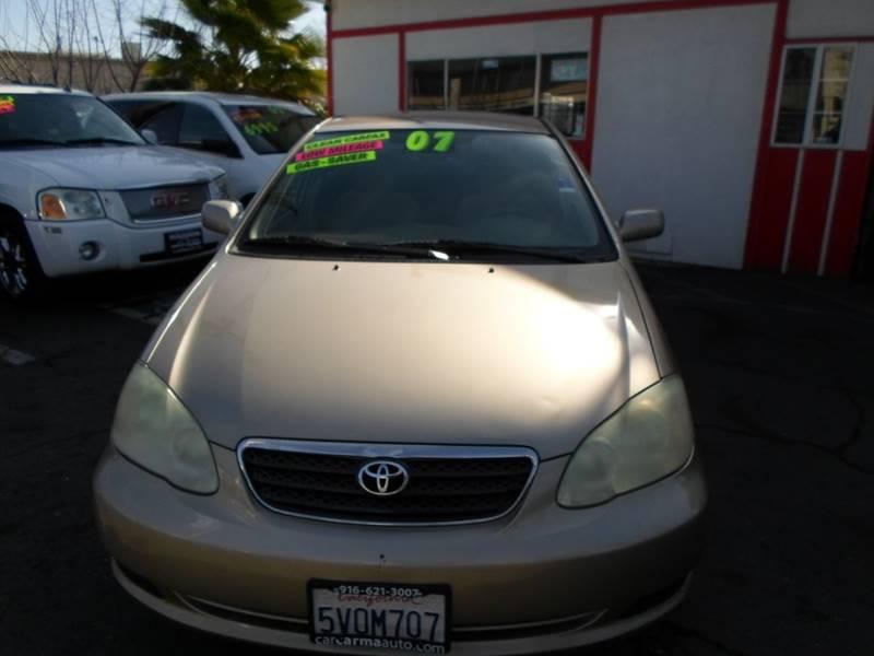 2007 Toyota Corolla For Sale At Car Carma Auto Sales In Sacramento CA