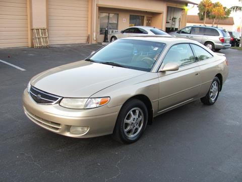 2001 Toyota Camry Solara For Sale At Mox Motors In Port Charlotte FL