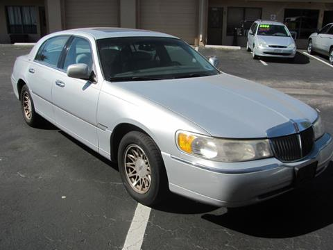 1998 Lincoln Town Car For Sale At Mox Motors In Port Charlotte FL