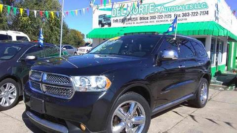 2011 Dodge Durango for sale in Denver, CO