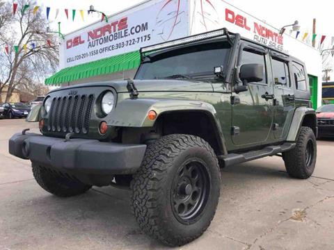 2008 Jeep Wrangler Unlimited for sale in Denver, CO
