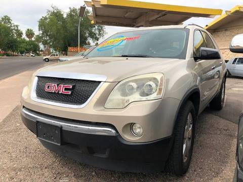 2008 GMC Acadia for sale in Glendale, AZ