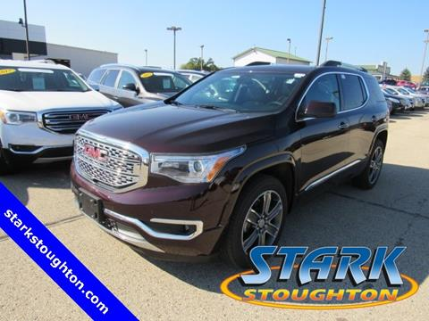 2017 GMC Acadia for sale in Stoughton, WI