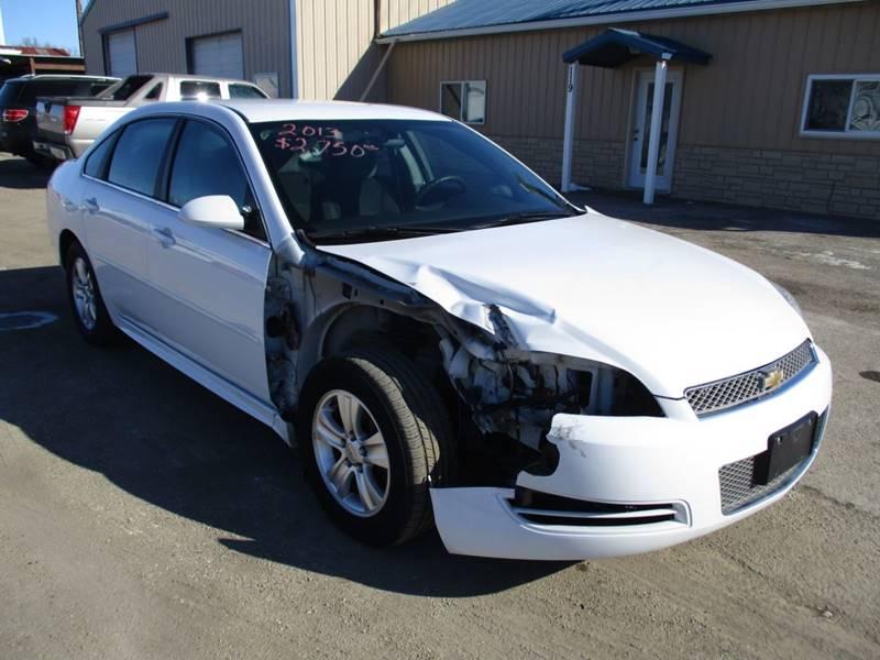 2013 Chevrolet Impala for sale at Northeast Iowa Auto Sales in Hazleton IA