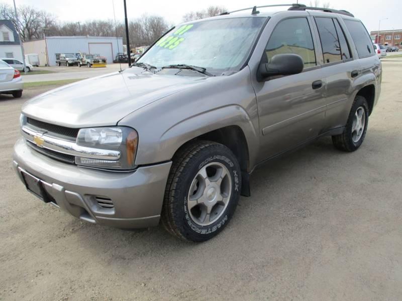 2007 Chevrolet TrailBlazer for sale at Northeast Iowa Auto Sales in Hazleton IA