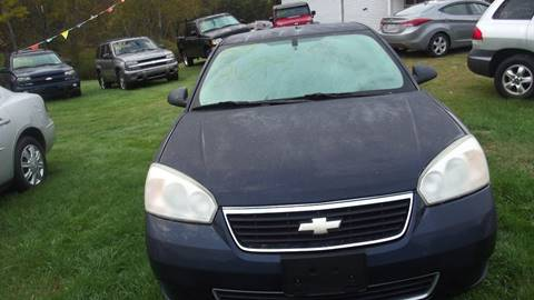 2007 Chevrolet Malibu for sale in Newport, NH