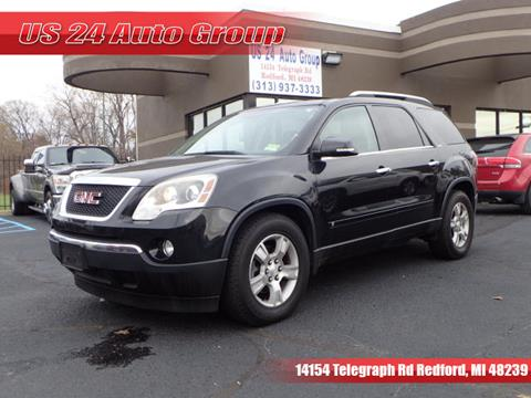 2009 GMC Acadia for sale at US 24 Auto Group in Redford MI