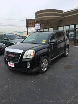 2012 GMC Terrain for sale at US 24 Auto Group in Redford MI
