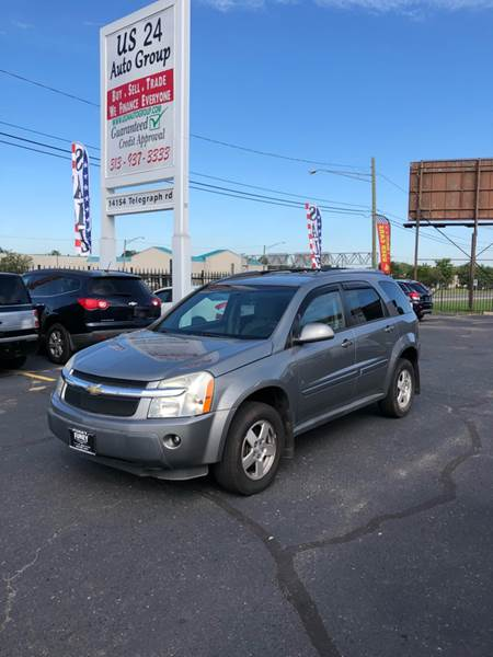 2006 Chevrolet Equinox For Sale At US 24 Auto Group In Redford MI