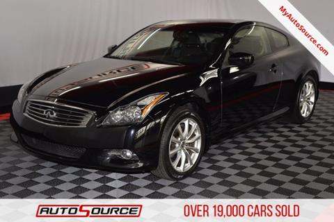 2013 Infiniti G37 Coupe for sale in Windsor, CO