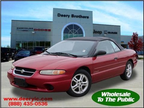 1998 Chrysler Sebring for sale in Iowa City, IA