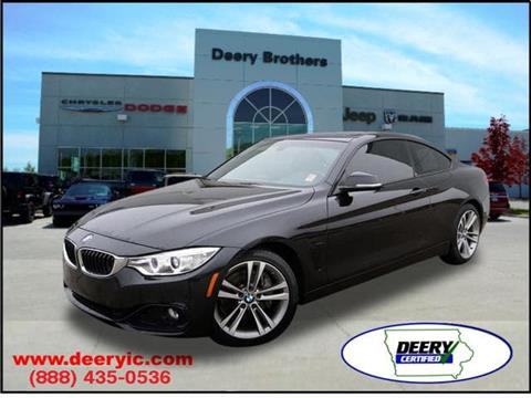 2015 BMW 4 Series for sale in Iowa City, IA