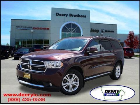 2012 Dodge Durango for sale in Iowa City, IA