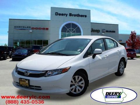 2012 Honda Civic for sale in Iowa City, IA