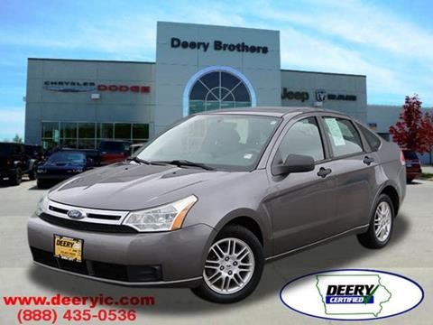 2010 Ford Focus for sale in Iowa City, IA