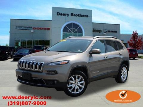 2017 Jeep Cherokee for sale in Iowa City, IA