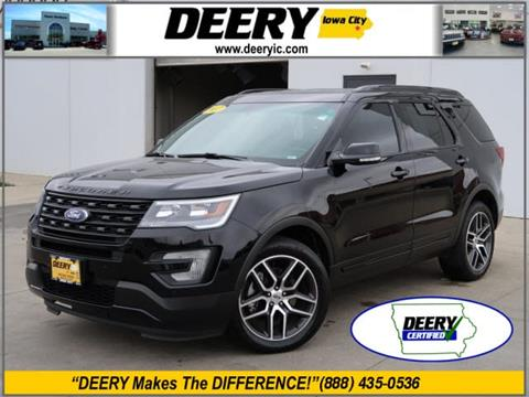 2017 Ford Explorer for sale in Iowa City, IA