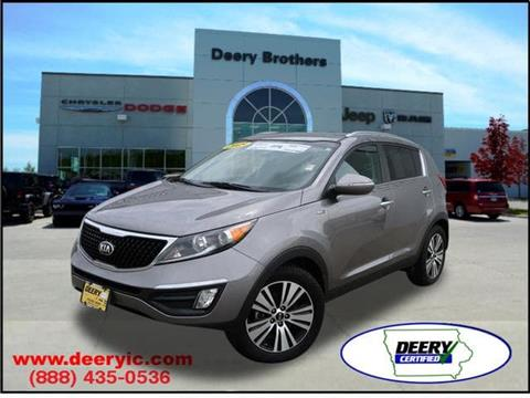 2015 Kia Sportage for sale in Iowa City, IA