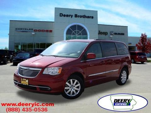 2013 Chrysler Town and Country for sale in Iowa City, IA