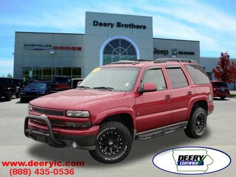 used 2005 chevrolet tahoe for sale in iowa. Black Bedroom Furniture Sets. Home Design Ideas