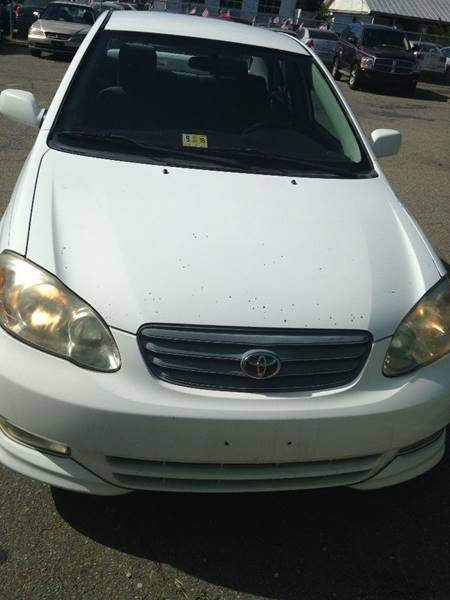 2003 Toyota Corolla For Sale At Reach Auto Sales In Richmond VA