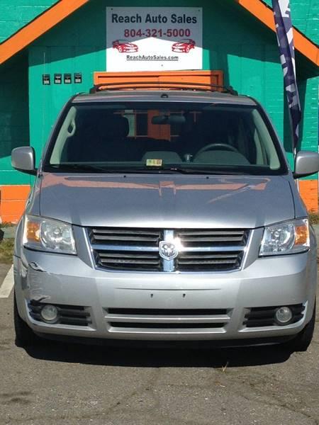 2008 Dodge Grand Caravan Sxt In Richmond Va Reach Auto Sales