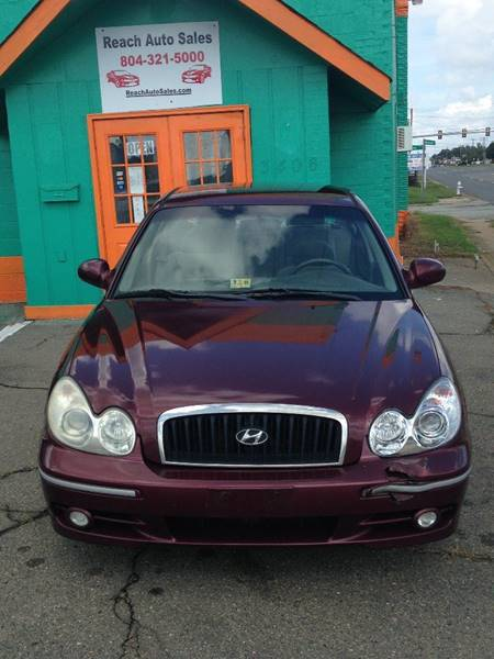 2003 Hyundai Sonata For Sale At Reach Auto Sales In Richmond VA