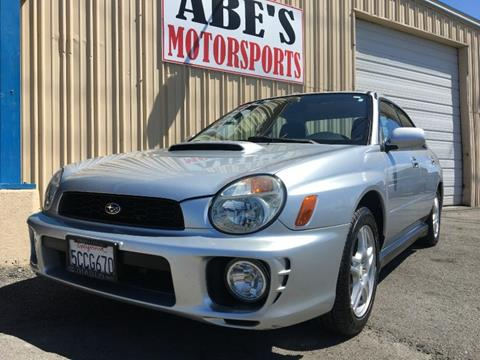 2003 Subaru Impreza for sale in Sacramento, CA