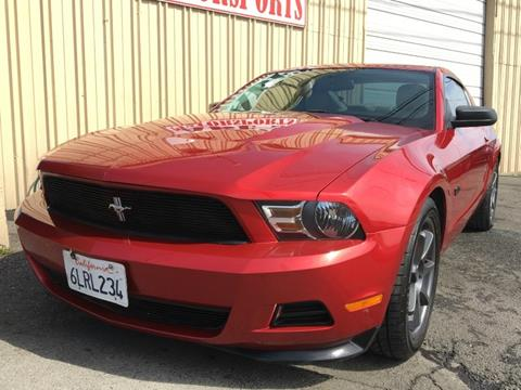 2011 Ford Mustang for sale in Sacramento, CA