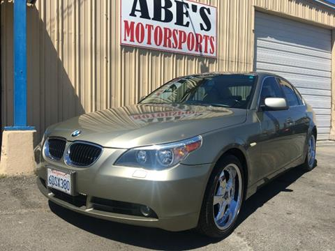2005 BMW 5 Series for sale in Sacramento, CA