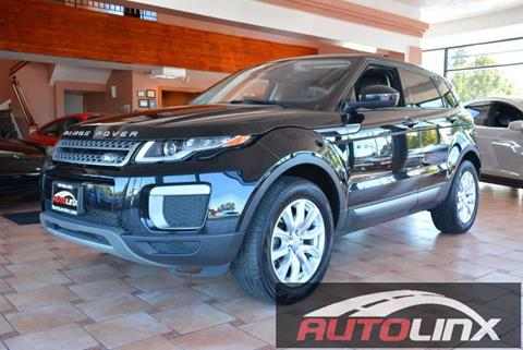 2016 Land Rover Range Rover Evoque for sale in Vallejo, CA