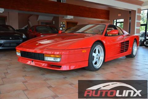 1989 Ferrari Testarossa for sale in Vallejo, CA