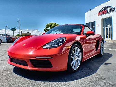 2017 Porsche 718 Boxster for sale in Vallejo, CA