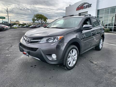 2015 Toyota RAV4 Limited for sale at AutoLinx Inc in Vallejo CA
