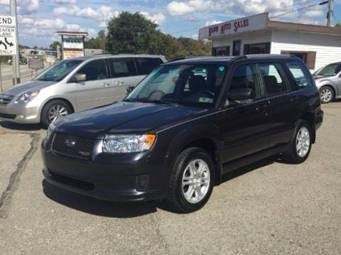 2008 Subaru Forester for sale in Connellsville, PA