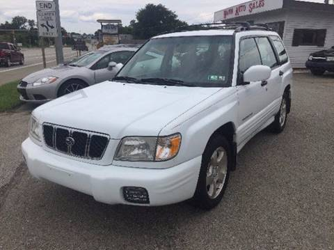 2001 Subaru Forester for sale in Connellsville PA