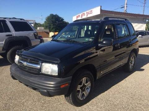 2002 Chevrolet Tracker for sale in Connellsville PA
