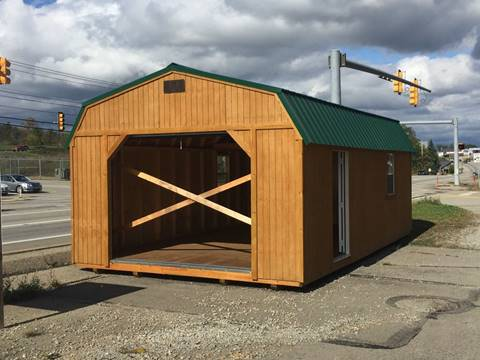Backyard Outfitters, 14x24 Lofted Barn Garage for sale in Connellsville, PA