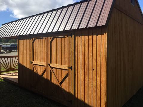 Backyard Outfitters, 12x20 Lofted Side Porch Pkg. for sale in Connellsville, PA
